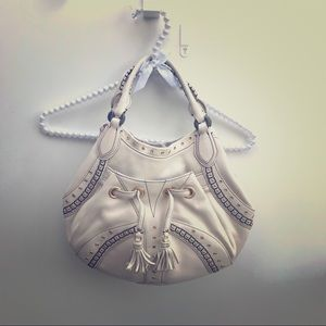 NWOT Cole Haan Village Grommet Leather Satchel Bag